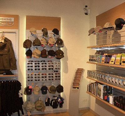 Accessori per pannelli a doghe in filo arredo negozio for Arredamento accessori