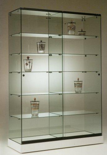 Vetrine da interno serie base nova vetrine da interno for Vetrine in cristallo arredamento