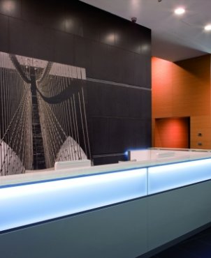 Banco Reception mod. Led