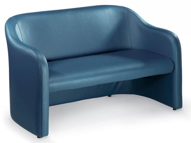 Divano d 39 attesa mod kivos divani e poltrone per sale d for Poltrone ufficio roma