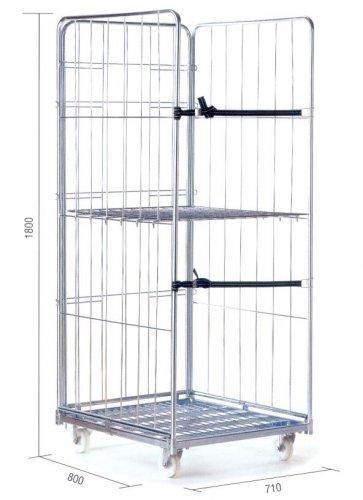 Roll container arredo negozio per abbigliamento for Accessori arredamento negozi