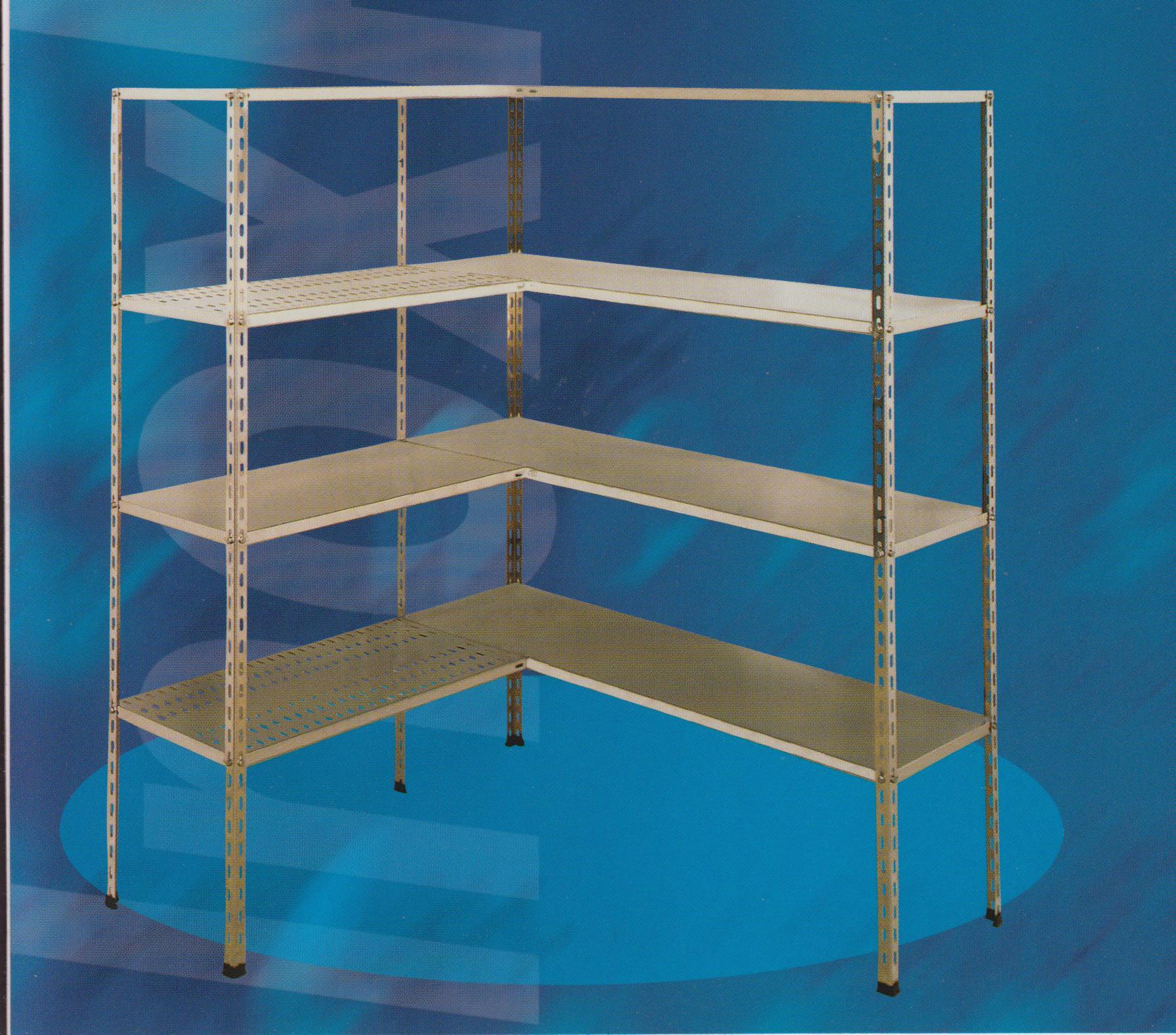 Scaffalature metalliche in acciaio inox aisi 304 for Scaffali per ufficio acciaio
