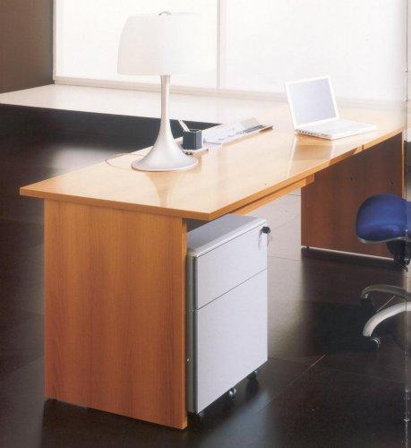 Scrivanie per uffici galleria fotografica scaffali for Mr arredamenti roma
