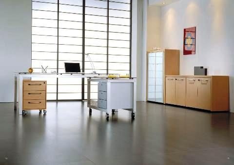 Scrivania direzionale mod quadra scrivanie per uffici for Amm arredamenti
