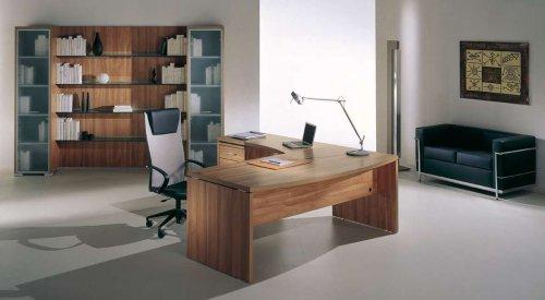 Scrivania direzionale mod. Flux - Scrivanie per uffici - Poltrone Ufficio - Arredamento Uffici ...