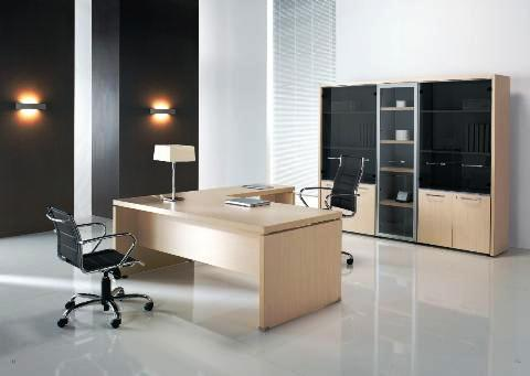 Scrivania direzionale mod novia scrivanie per uffici for Armadi per uffici