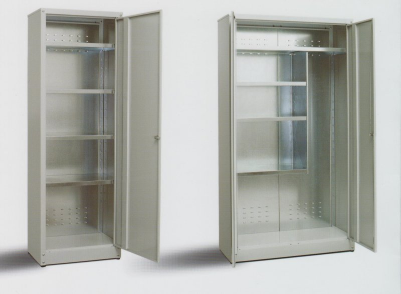 Armadi metallici galleria fotografica scaffali - Armadi da esterno obi ...